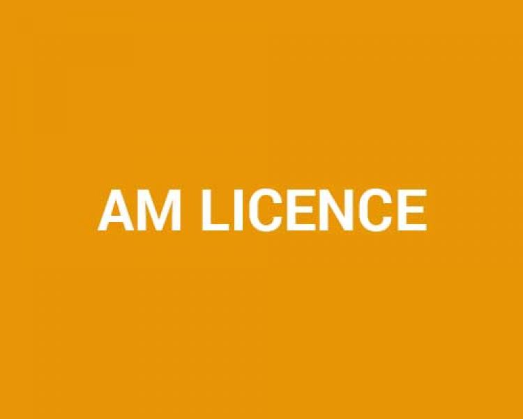 AM Licence - Motorcycle CBT